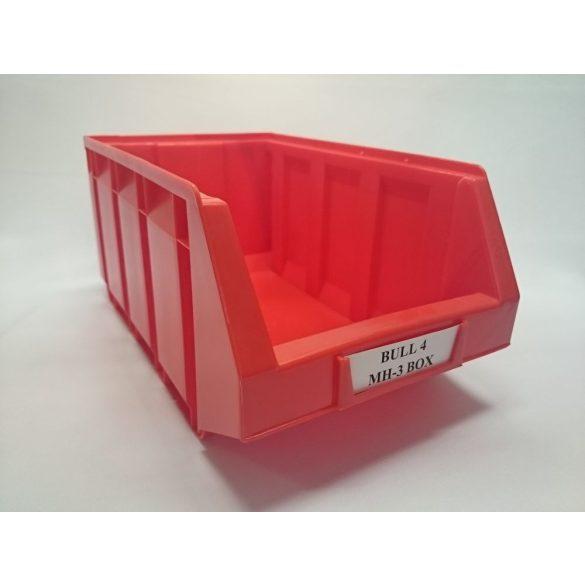 BULL 4, MH BOX 3-as Piros