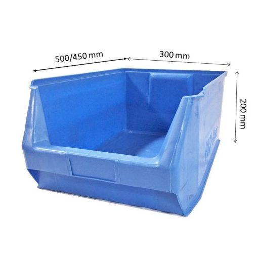 MH2-box kék (500x300x200mm)