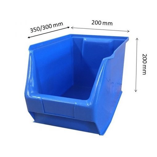MH3-box kék (350x200x200mm)