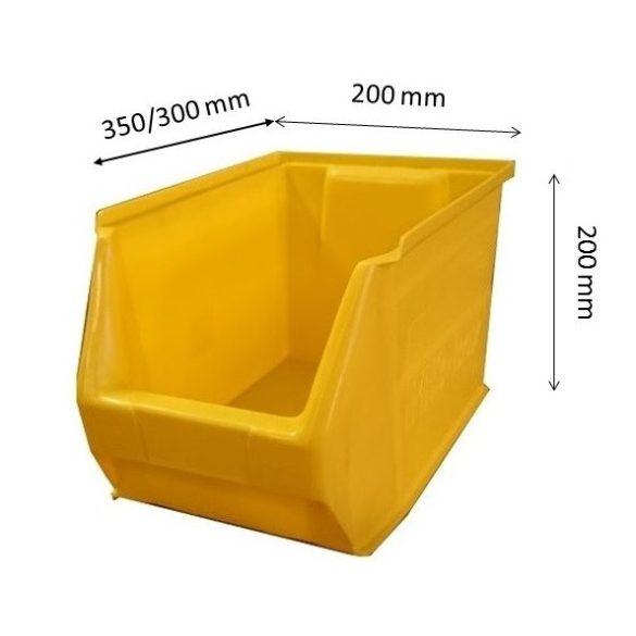 MH3-box sárga (350x200x200mm)