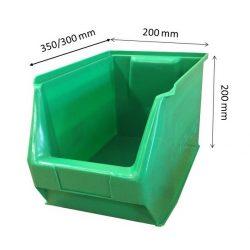 MH3-box zöld (350x200x200mm)