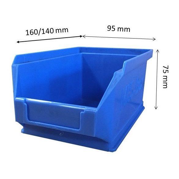 MH5-box kék (160x90x75mm)
