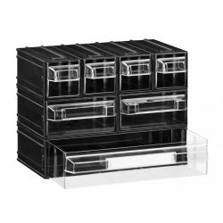 PUMA 205 fiókos tároló rendszer (7 fiók) csavartartó doboz