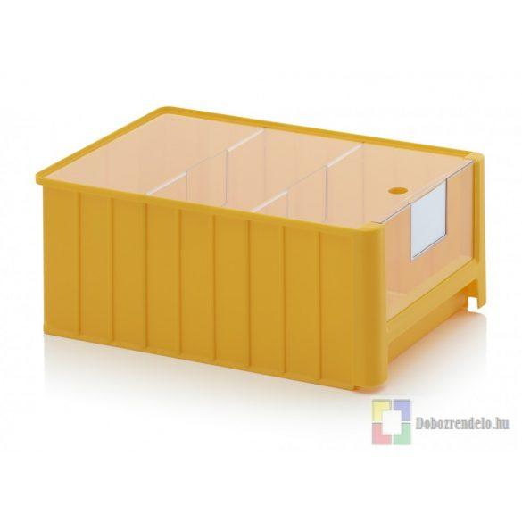 NYITOTT TÁROLÓDOBOZOK SK 5 sárga