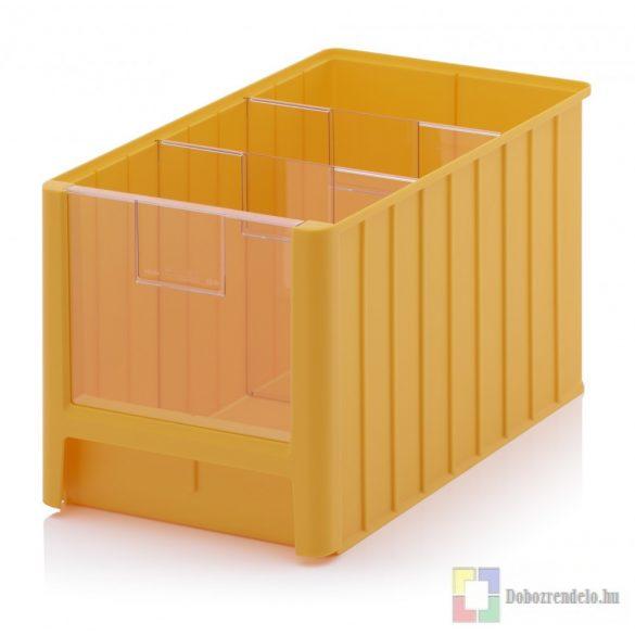 NYITOTT TÁROLÓDOBOZOK SK 5H sárga