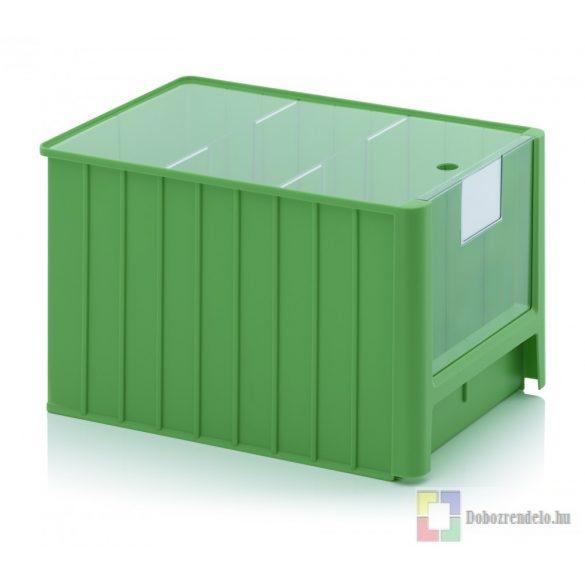 NYITOTT TÁROLÓDOBOZOK SK 5H zöld