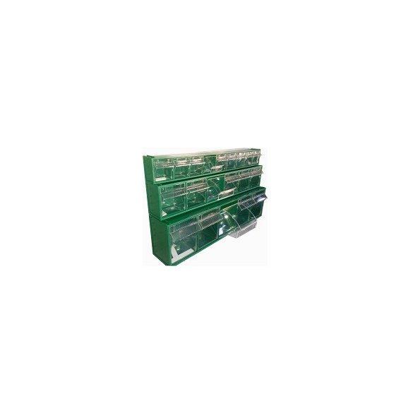 FOX kétoldalas moduláris konténer ipari felhasználásra(doboz nélkül)