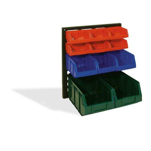 V/640 M  Műanyag Fali Tároló Rendszer